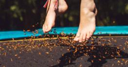 Trampolin reinigen - So geht es schnell und einfach